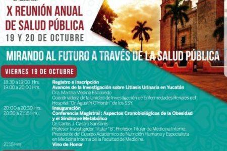 Mérida, sede de la X Reunión Anual de Salud Pública