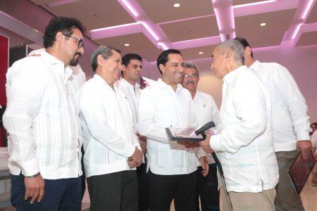 Mauricio Vila ofrece fuerte impulso a la infraestructura en Yucatán