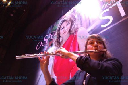 Frescura de juventud con música nórdica a flauta, promete Mimi Stillman