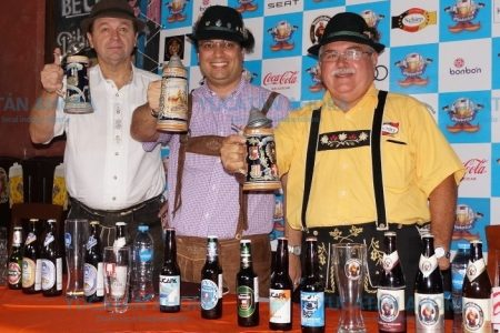 Ya alistan la fiesta de la cerveza con sabor a Alemania