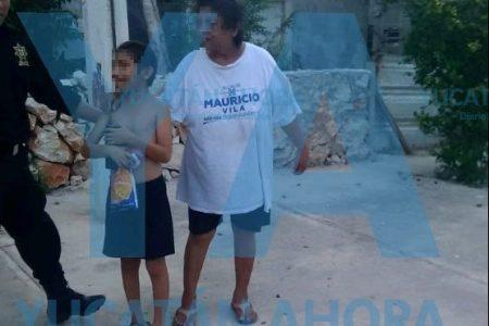 Encuentran deambulando en el sur de Mérida a niño con retraso psicomotor