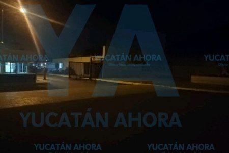 Fuego en central termoeléctrica de la CFE en Mérida