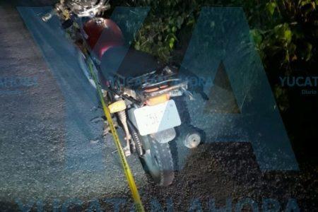 Motociclista pierde la vida al estrellarse con una bicicleta