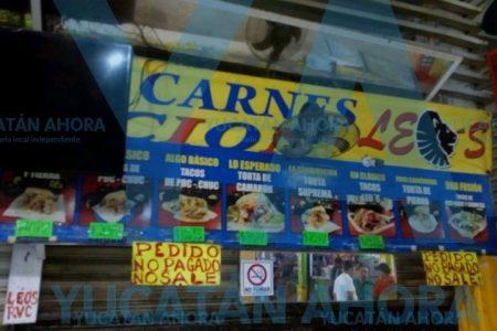 Explota local de comida en el mercado de Progreso