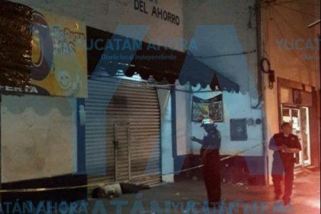 Encuentran un hombre muerto en el centro de Mérida