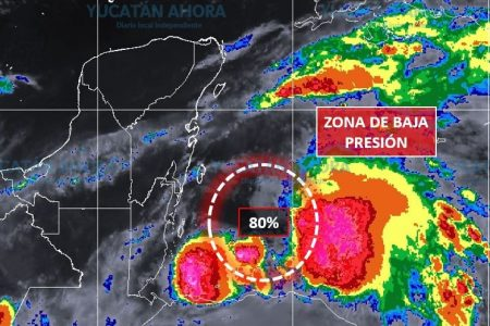 Baja presión en el Mar Caribe ahora con 80% de probabilidad de desarrollo ciclónico