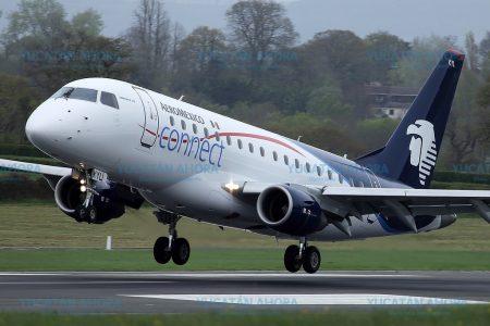 Aeroméxico anuncia cancelación del vuelo Mérida-Monterrey