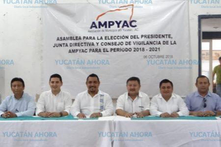 Eligen nuevo presidente de la Asociación de Municipios por Yucatán