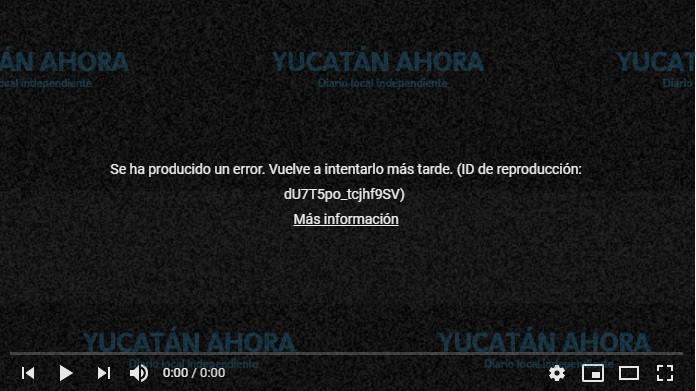 ¿Te marcan error tus videos de YouTube? Hay caída mundial