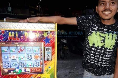¿Karma positivo? Le roban su bicicleta pero gana tres mil pesos en el 'minicasino'