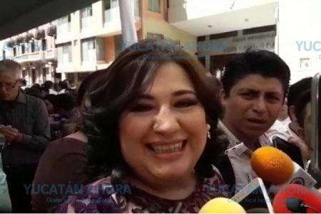 Deseo que le vaya bien al nuevo gobernador Mauricio Vila: Celia Rivas