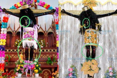 Como el Ecce Homo español, el Cristo Negro de Citilcum sufre peculiar restauración