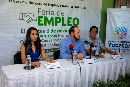 Feria de Empleo, este 6 de noviembre en el Centro de Convenciones Siglo XXI