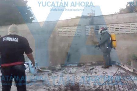 Clausuran planta industrial: hizo brotar ácido muriático en los patios de casas en Umán