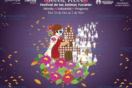 Las ánimas viajan a CDMX a promover el Hanal Pixán de Yucatán
