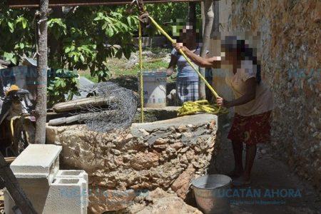 Los problemas de agua en el poniente de Yucatán, de cinco meses a la fecha