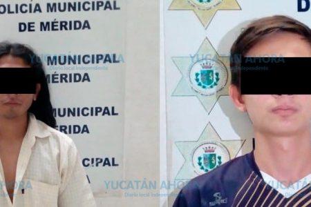Oficial canino les arruina el 'alucine' a par de millenials en San Juan