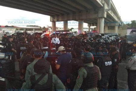 Refuerzan seguridad en Kanasín: envían 100 policías y 28 patrullas más