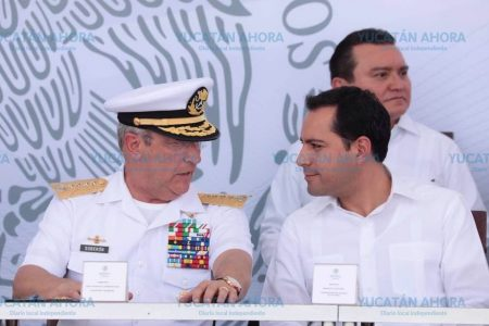 Mauricio Vila participa en inauguración de estratégicas instalaciones militares