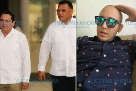 Rolando no dejó vivo a ningún ivonista, pero ahora se quejan, les reclama ex funcionario