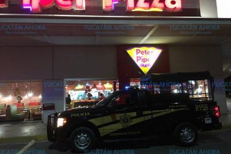 Conato de incendio en el área de juegos de Peter Piper Pizza