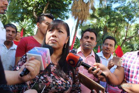 Denuncian amenazas contra la líder estatal del Movimiento Antorchista