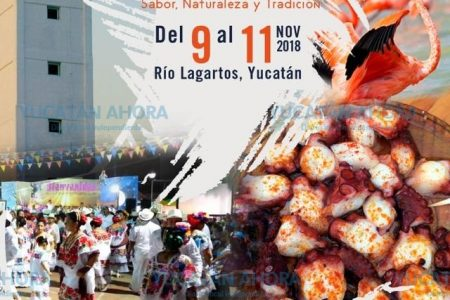 Anuncian Festival del Pulpo en Río Lagartos, del 9 al 11 de noviembre