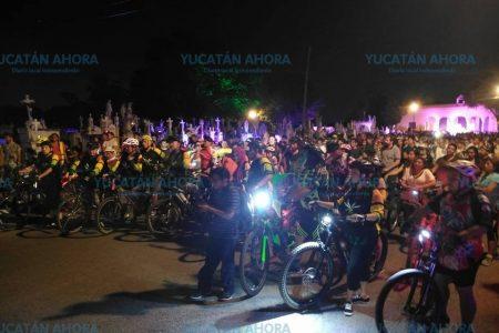 Con rodada de terror, comienza en Mérida el Festival de las Ánimas