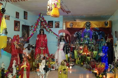 Devotos ven crecimiento y aceptación del culto a la 'Santa Muerte' en Yucatán