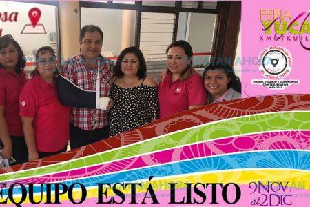 Feria Yucatán con visión de género: Taxi, camiones y estacionamiento rosa