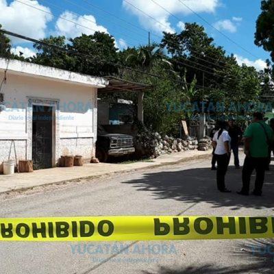 Un hijo, principal sospechoso del asesinato de una pareja de adultos mayores en Temozón