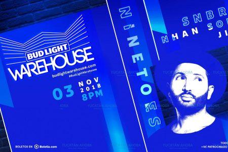 Bud Light Warehouse regresa a Mérida
