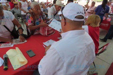 Telecomm comienza el pago a beneficiarios de 65 y Más en Mérida