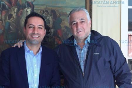 Mauricio Vila recibirá a AMLO en el Palacio de Gobierno el viernes 12 de octubre