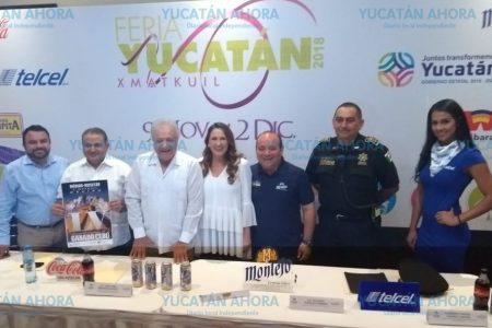 Seguridad, organización y novedades, en la Feria Yucatán Xmatkuil 2018