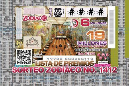 Cae en Mérida premio mayor del Sorteo Zodiaco