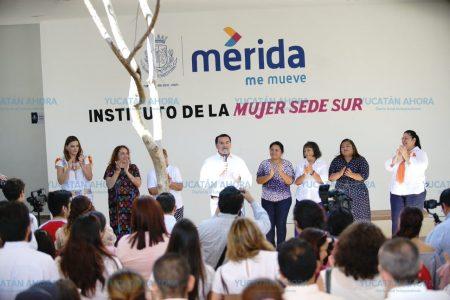 Acercan el Instituto Municipal de la Mujer a las meridanas del sur
