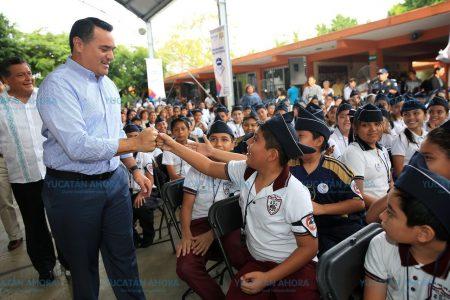 Vigilan el presente y el futuro de niños y niñas de Mérida
