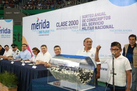 800 jóvenes yucatecos se adiestrarán como reservas para defender la soberanía de México