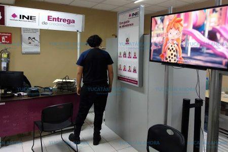 Más de 8 mil jóvenes yucatecos no se interesaron por su credencial para votar