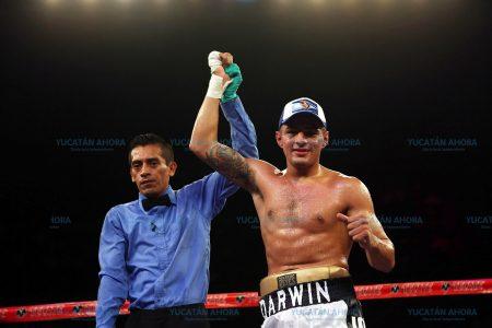 Darwin Berrón este sábado en la cartelera 'Tirazo en Cancún' por su undécimo triunfo