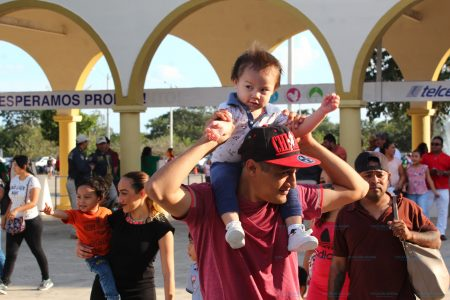 Masiva asistencia a la Feria Yucatán en su primer fin de semana