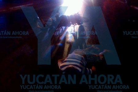 Tragedia en el sur de Mérida: motociclista arrolla una bicicleta