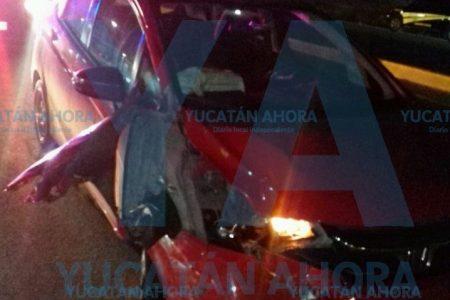 Un ebrio le arrebata la vida a la joven esposa de un motociclista, en el Periférico