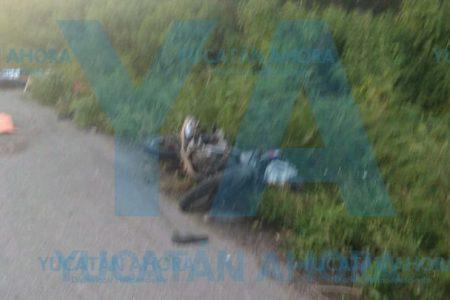Muere bebé de mes y medio al derrapar la moto en la que lo llevaban sus padres