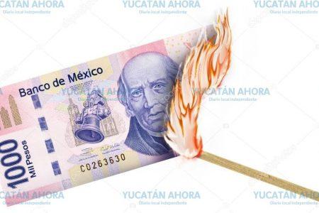 Incendio 'pudiente': quema 20 mil pesos en el sur de Mérida