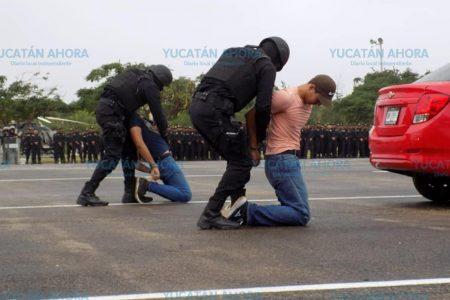 La Policía Estatal, un dique para quienes vienen a Yucatán a alterar la paz