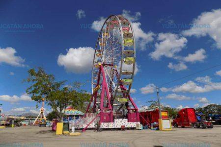 Todo listo para la inauguración de la Feria Yucatán en Xmatkuil