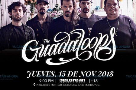 The Guadaloops llegan por primera vez a Mérida