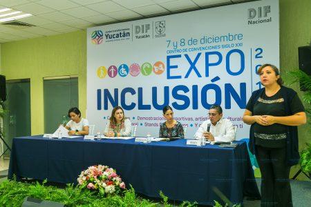Anuncia la Expo Inclusión 2018, este 7 y 8 de diciembre